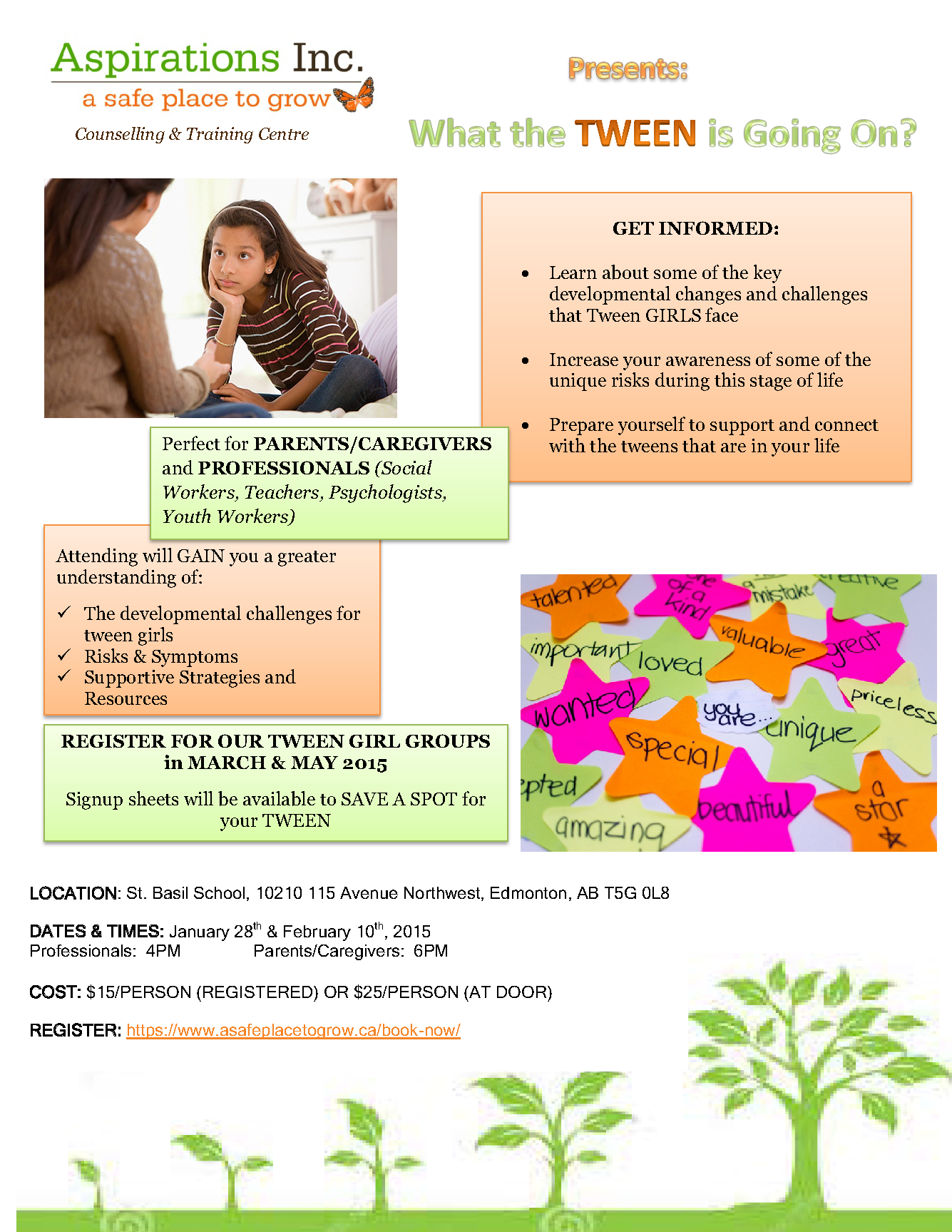 Tween Presentation Poster JAN 23 2015