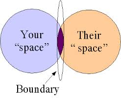 your space vs their space